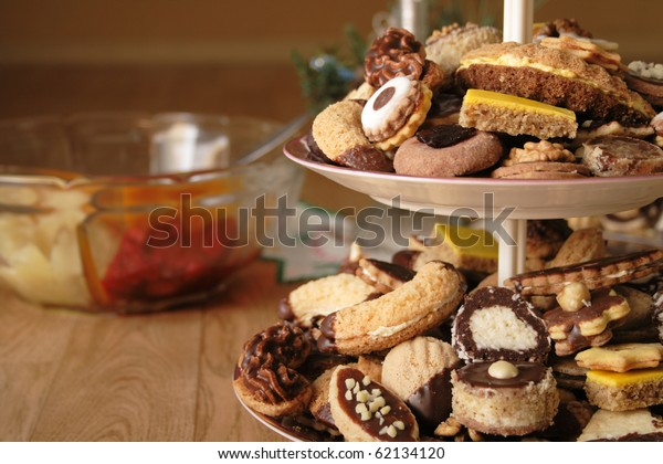Traditional Czech Christmas Cookies Stock Photo Edit Now 62134120