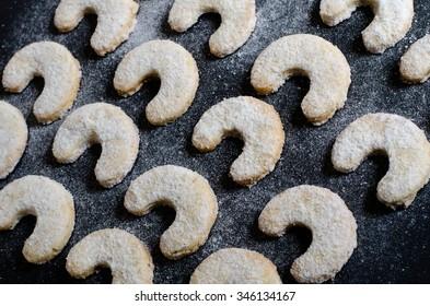 traditional czech christmas vanilla rolls