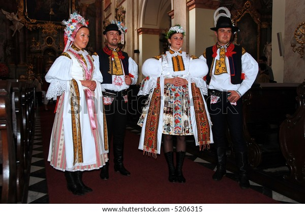 Traditional czech folk costume