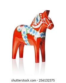 A Traditional Dalecarlian horse or Dala horse (Swedish: Dalahast) It has become a symbol of Dalarna as well as Sweden in general. The design of the horse has been around for centuries.