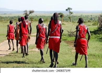 Traditional Dance of Masais - Kenya