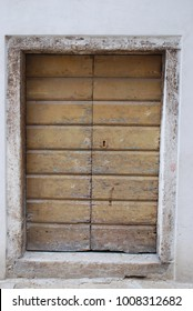 Traditional Door. Croatia
