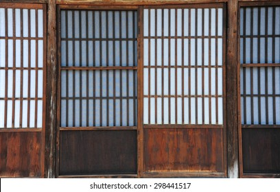 Traditional door of  japan style