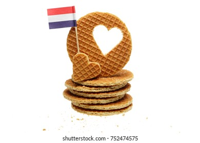 Traditional Dutch Caramel Cookies