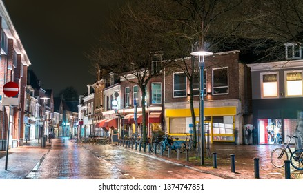 Traditional Dutch houses in the old town of Amersfoort, the Netherlands