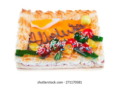 Traditional easter cake - mazurek