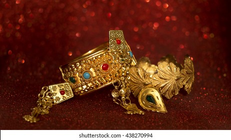 Traditional Eid Mubarak Jewellery