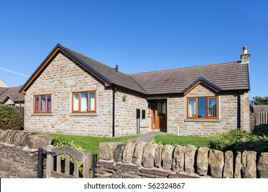 Traditional english bungalow house