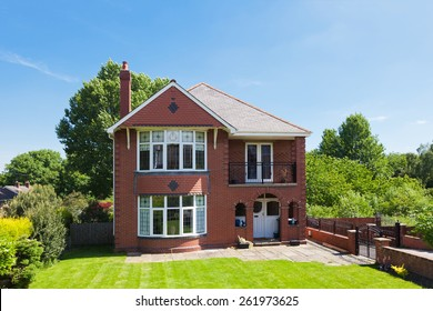 Traditional english detached house