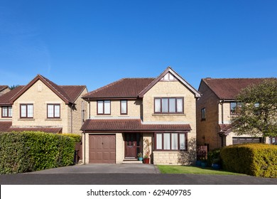 Traditional english detached houses
