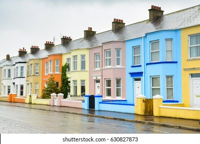 traditional english lined houses