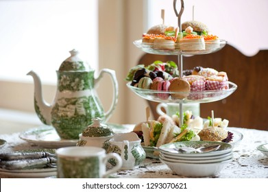 traditional English tea, high tea , tea party