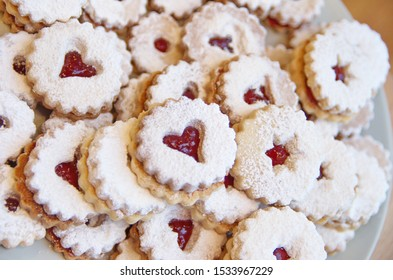 Traditional European Christmas Cookies - Shortcrust Pastry Cookies