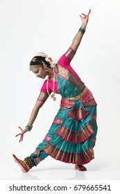 Traditional Female Indian Dancer