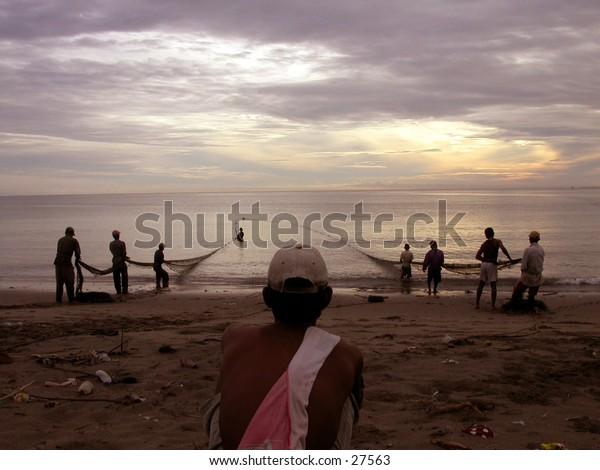 Traditional fishermen