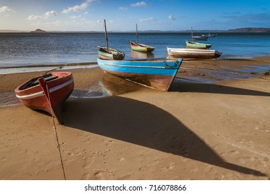 Traditional fishing boat in the Antsiranana bay (Diego Suarez), north of Madagascar