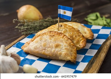 Traditional food argentina empanadas