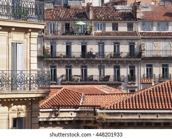 Traditional French architecture and residential building