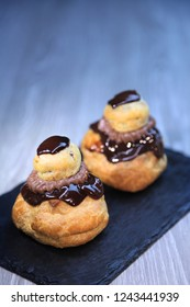 traditional french cakes,religieuse