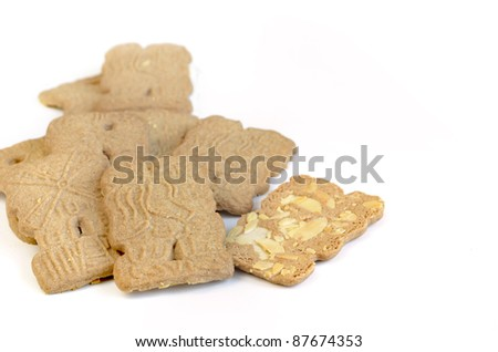 Traditional German Spekulatius Biscuits Stock Photo Edit Now