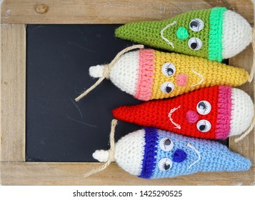 Traditional gift to first-graders kids before School in Germany, colorfull school cones