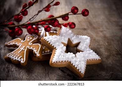 Christmas Angel Cookies Images Stock Photos Vectors Shutterstock