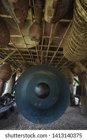 traditional Gong in a temple in Thailand, Gong or Khong is one of the music instrument in Thailand