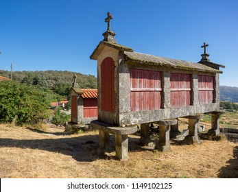 traditional granaries of Spain and Portugal