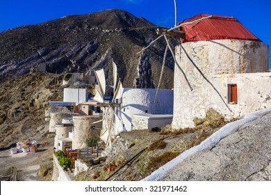 Traditional Greece - windmills of Karpathos island