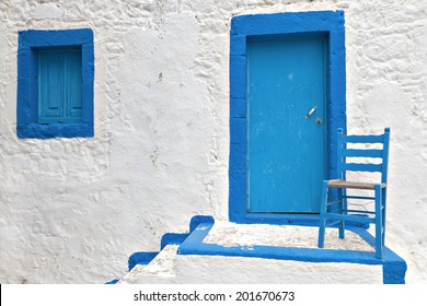 Traditional Greek house at Kos island in Greece