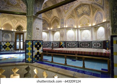 Traditional hammam in Isfahan, Iran. September 2016