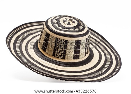 dca6696f0a6 Traditional Hat Colombia Sombrero Vueltiao Stock Photo (Edit Now ...