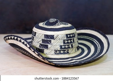 Traditional hat from Colombia. Vueltiao hat made by indigenous artisans of the Caribbean