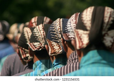 traditional hat from java named blangkon