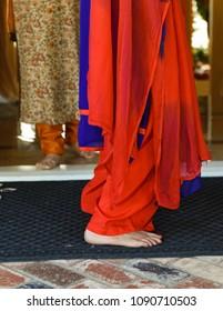 Traditional Hindu Dresses at wedding