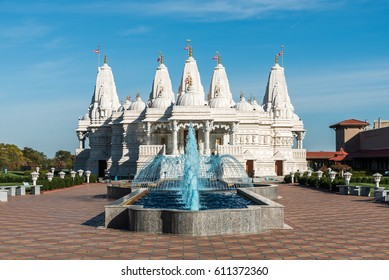 Traditional Hindu place of worship in Chicago