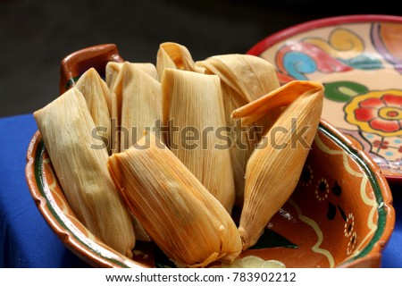 Traditional Homemade Mexican Food Tamales Corn Stock Photo Edit Now