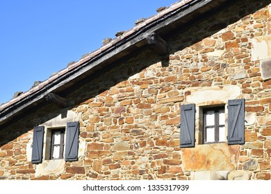 traditional house of basque country