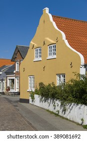 Traditional house in Fano, Denmark