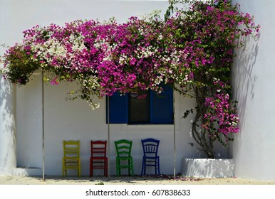 Traditional house in Karpathos island, Dodecanese Greece
