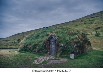 traditional house to live in in Iceland
