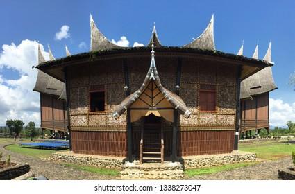 Traditional house of minang