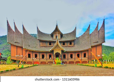Traditional house of Minangkabau west sumatera imdonesia