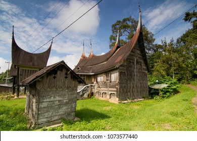 traditional house of padang west sumatra
