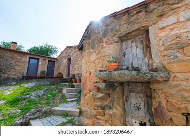 Traditional house in Pero Martins village in Middle Côa Valley in Portugal in Europe - Shutterstock ID 1893206467