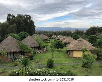 Traditional houses in Gondar, Ethopia