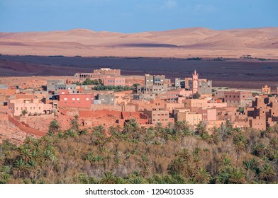 Traditional houses in Morocco.