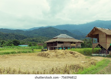 Traditional houses in rural area.