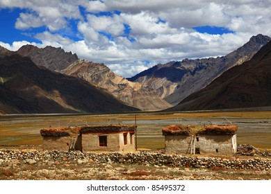 Traditional Houses, Zanskar, India