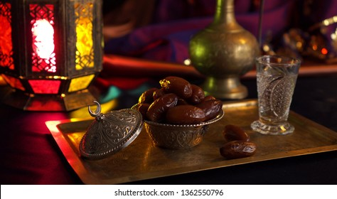 A traditional Iftar menu comprises fruits, juice, milk, dates and water. The holy month of Ramadan